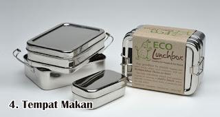 Tempat Makan adalah benda yang wajib kamu miliki untuk mendukung gerakan go green