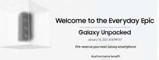 Samsung Galaxy S21 pre-reserve