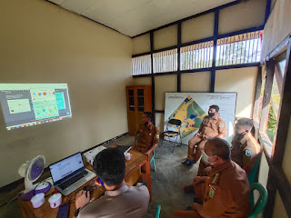 Serah Terima Pengelolaan Website PPID Kecamatan Toba