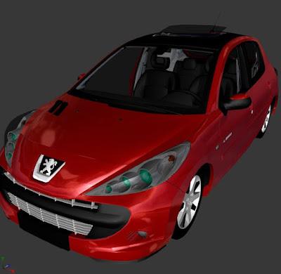 GTA SA : PEUGEOT 207 QUIKSILVER
