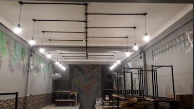 design sistem piping conduit expose