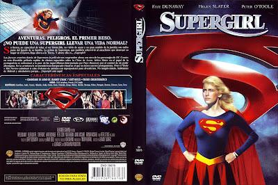 Carátula dvd: Supergirl (1984)