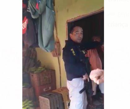 Comerciante denuncia agressão por agente da Polícia Rodoviária Federal em Tianguá, no Ceará
