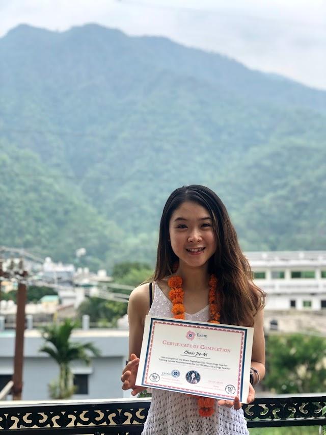 Certified Yoga Teacher Training (200 hours) in Rishikesh, India