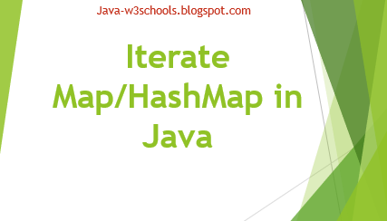Iterate Over Map in Java Including Java 8 Steam API(Lamda Expression on