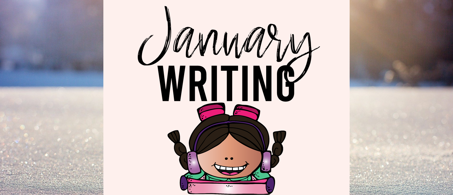 January writing templates for daily journal writing or a writing center in Kindergarten First Grade Second Grade