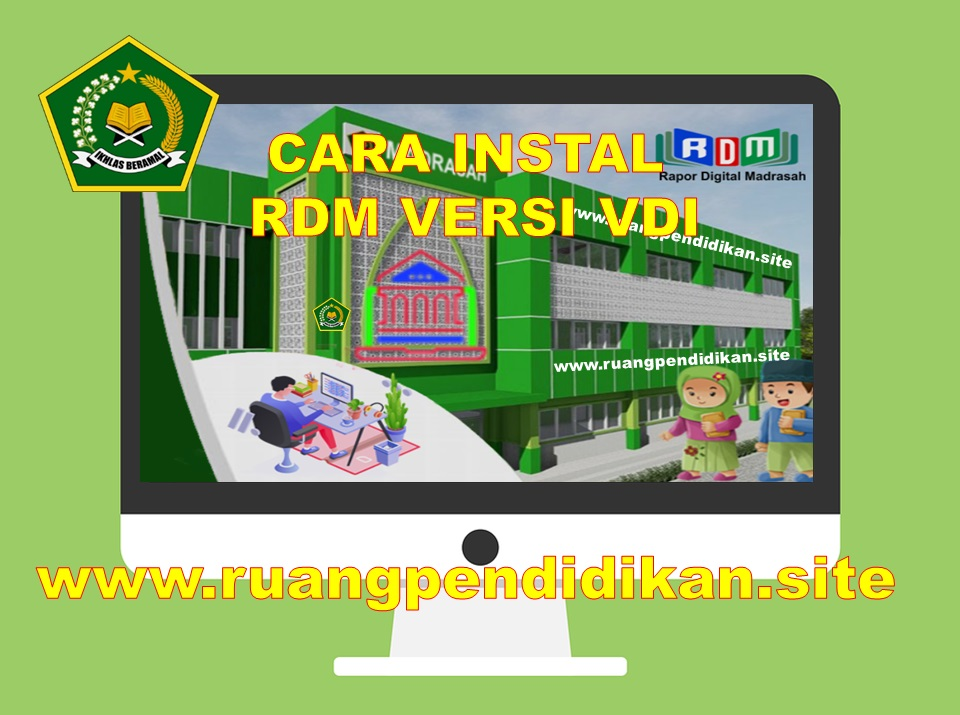 Pemasangan RDM Versi VDI