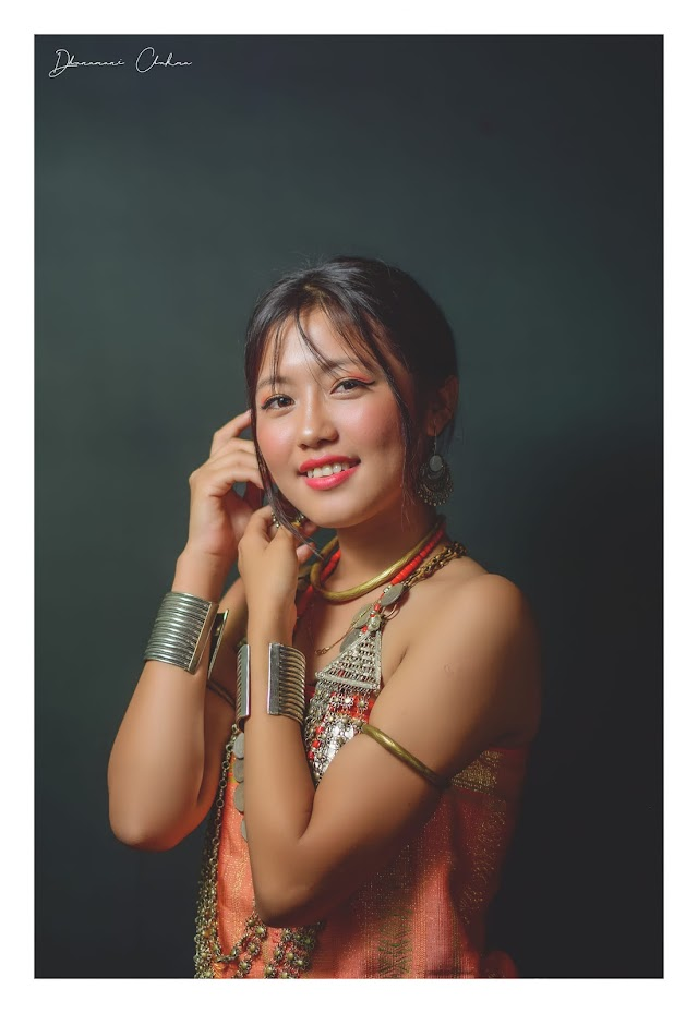 Traditional Chakma Girl