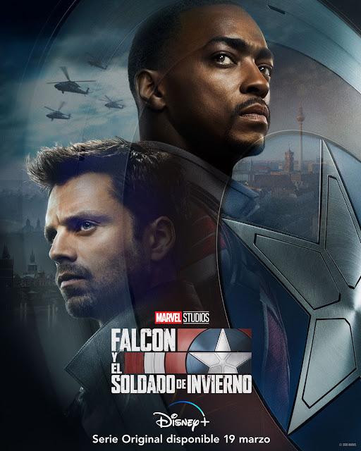 Cartel Falcon y el Soldado de Invierno
