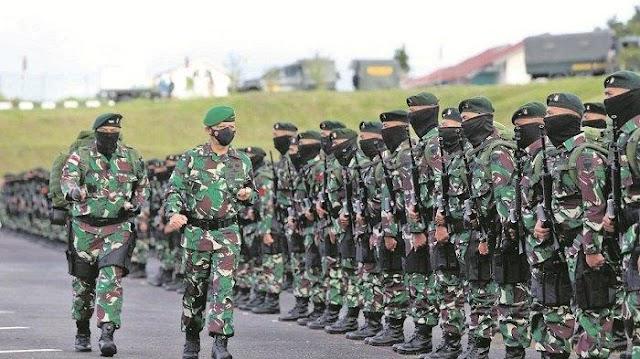 Dilepas Pangdam IM, 450 Prajurit dari Aceh Bertugas ke Papua