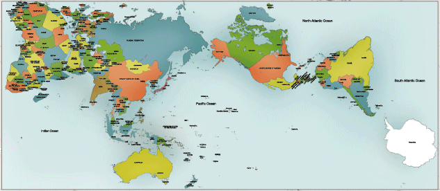 Stem education new world map the most accurate authagraph world map gumiabroncs Image collections