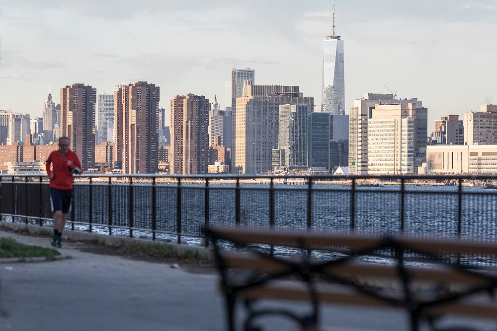 New York, fall, autumn, morning, Manhattan, photography, outdoors, Visualaddict, Frida Steiner, valokuvaaja, photographer, skyline, jogger