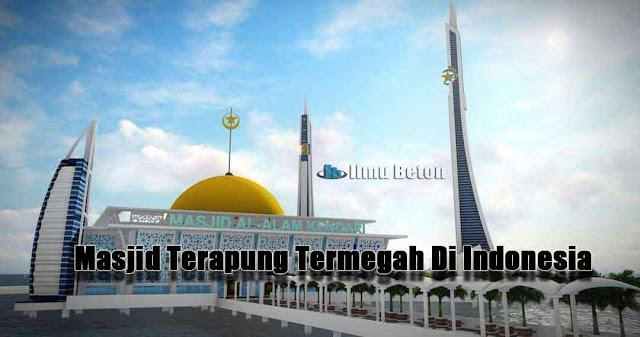Masjid Terapung Termegah Di Indonesia |  Masjid Al-Alam Kendari