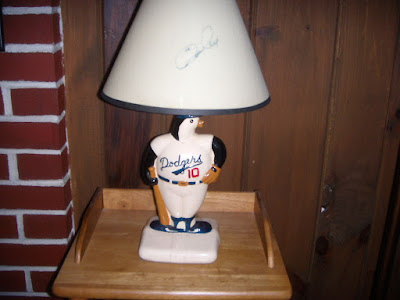 Ron Cey, Fleetwood Mac and a Lamp