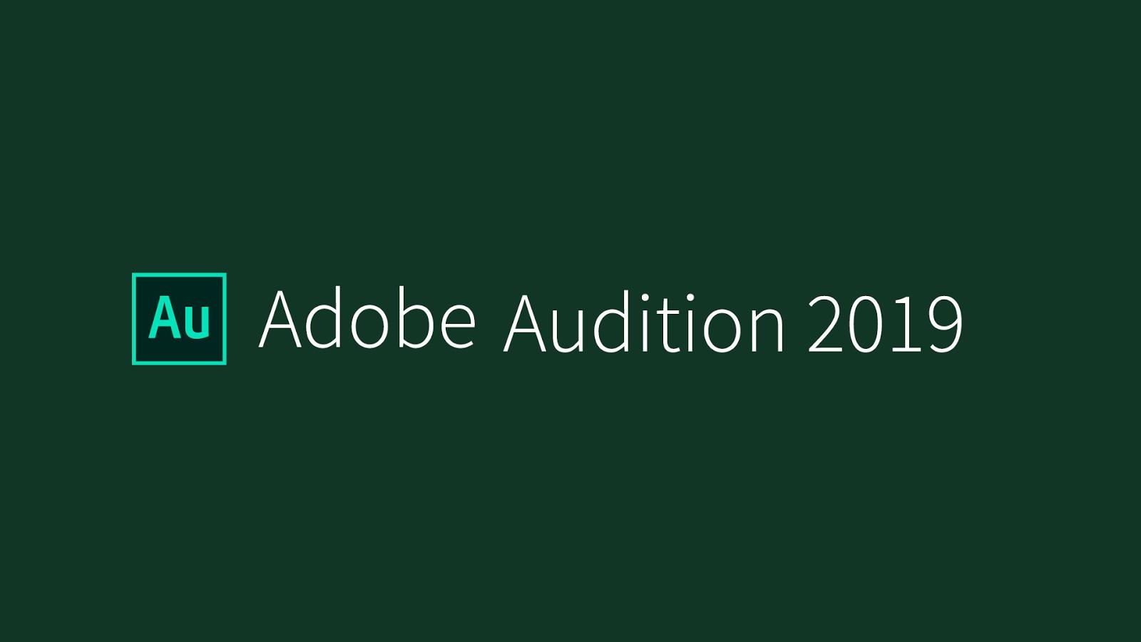 Hướng dẫn cài đặt Adobe Audition CC 2019 Full Active mới nhất