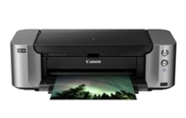 technology that makes glossy photograph prints in addition to tin final upward to  Canon PIXMA PRO-100 Printer Driver Download