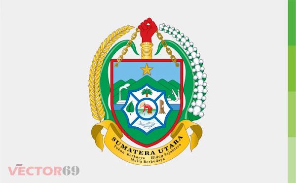 Provinsi Sumatera Utara (Sumut) Logo - Download Vector File CDR (CorelDraw)