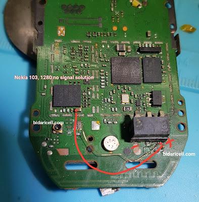 Nokia 103 1280 tidak ada sinyal