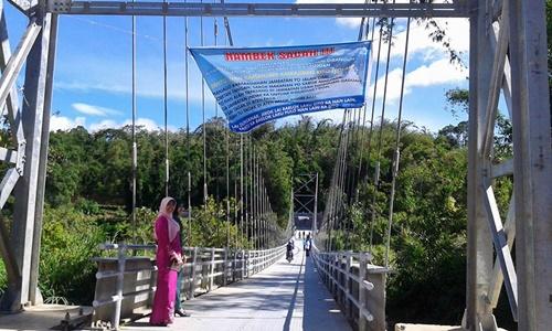 Objek Wisata Baru Jembatan Hati Guguak Tabek Bukittinggi Rakyat
