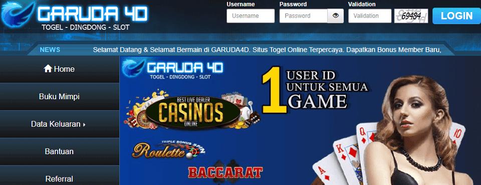 Situs Garuda4D Terbaik