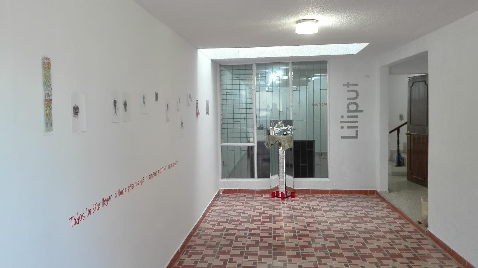 interior de la galería Liliput