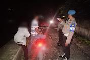 Pasangan Muda-mudi Terciduk Polisi, Kanit Provost Polsek Enrekang Beri Peringatan
