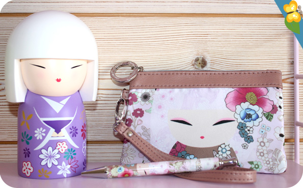 Stylo, trousse et tirelire Kimmidoll collection
