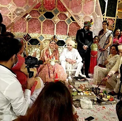 Kajal Aggarwal marriage wedding first night pictures