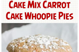 Cake Mix Carrot Cake Whoopie Pies