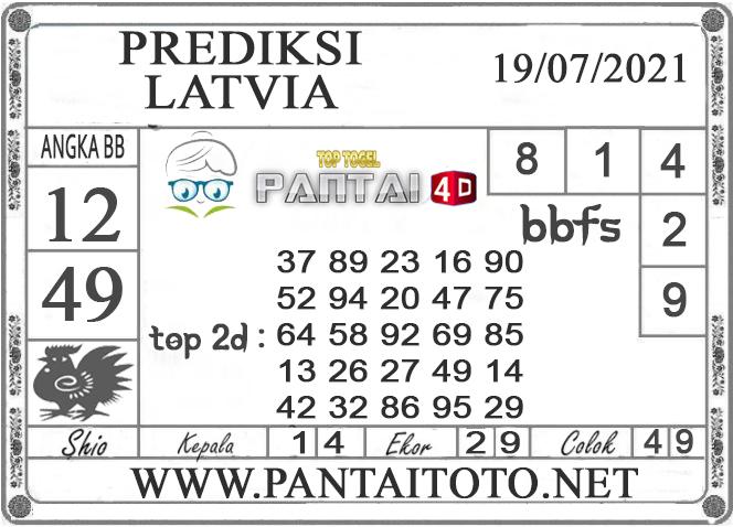 PREDIKSI TOGEL LATVIA PANTAI4D 19 JULI 2021