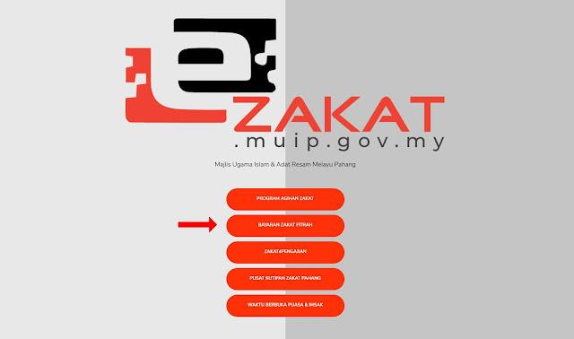Bayaran Melalui eZakat Pahang