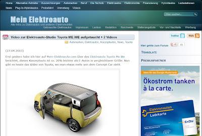 mein elektroauto blog seite empfehlung trends umweltfonds hochrentabel 2013 akku lebensdauer reichweite