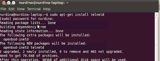 Cara Install Telnetd