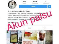 Ini Instagram Bukan Milik Ustad Arifin Ilham