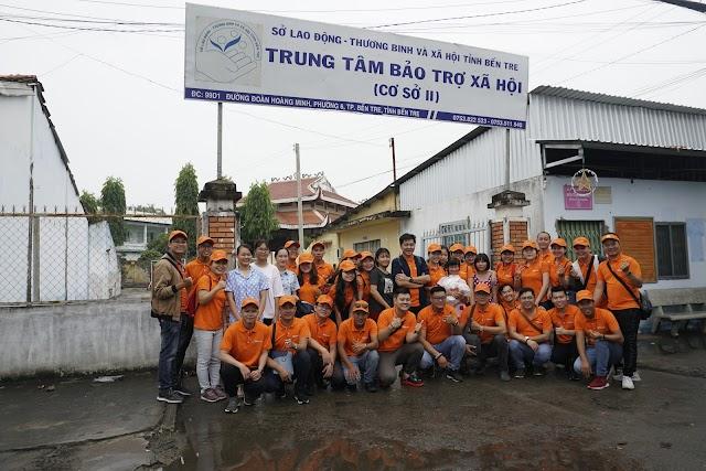 TST Tourist tổ chức hoạt động thiện nguyện tại Bến Tre