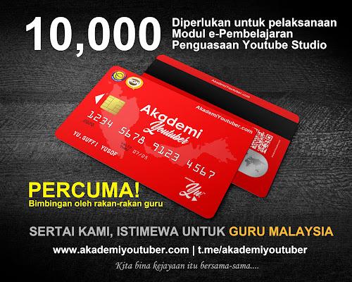 Akademi Youtuber - 'Give Away!' paling istimewa buat Guru Malaysia!