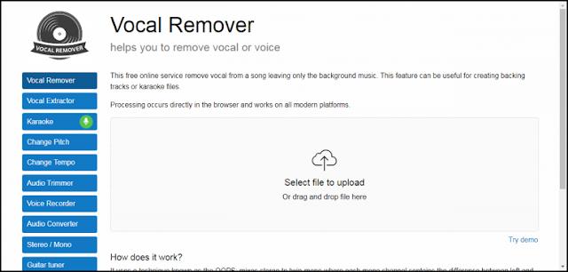 هذه المرة مجانا ! ثلاثة مواقع لإزالة صوت المطرب عن الأغاني بضغط زر واحدة فقط