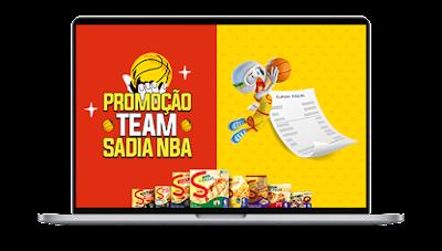 promoção sadia 2021 team nba