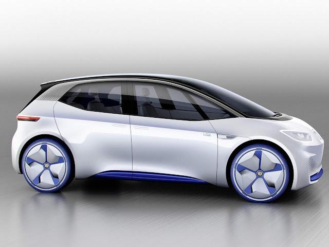 Volkswagen I.D. - elétrico e autônomo chega em 2020