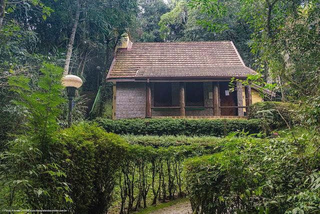 Casa da Bruxa no Bosque Alemão