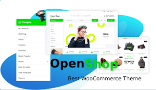 Open Shop eCommerce free theme