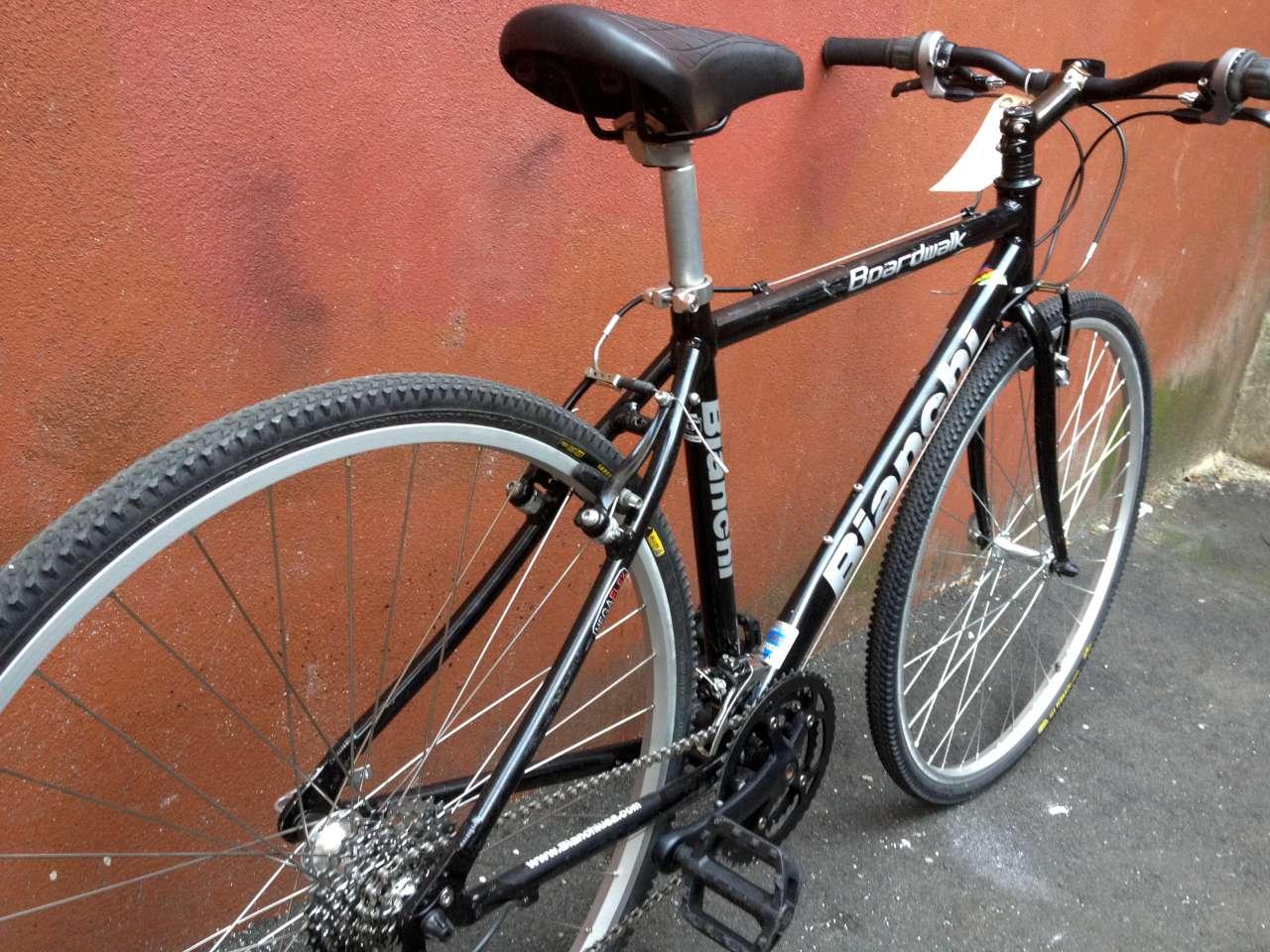 Bike Boom Refurbished Bikes Bianchi Boardwalk Hybrid