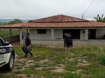 SINISTRO - Polícia encontra túnel em residência de Solânea, Casa de assaltante da região