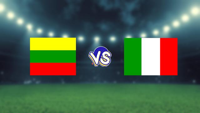 مشاهدة مباراة ايطاليا ضد ليتوانيا 08-09-2021 بث مباشر في التصفيات الاوروبيه المؤهله لكاس العالم