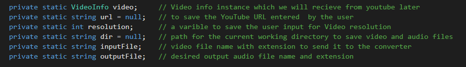 C#) Easy download Youtube video and convert it into MP3
