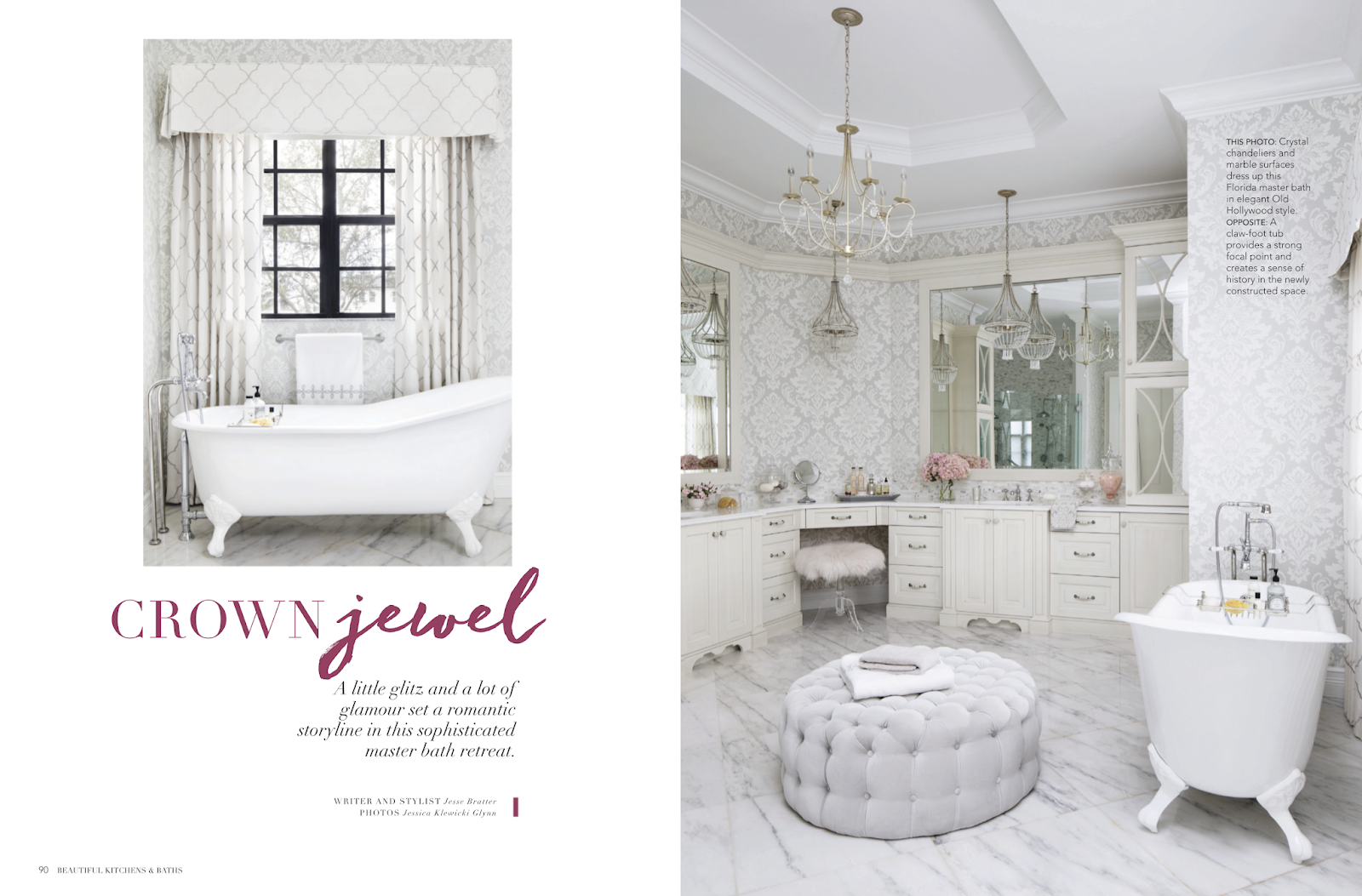 Jessica Glynn: Beautiful Kitchens & Baths features Krista + Home