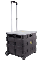 Quik Cart Collapsible Rolling Crate