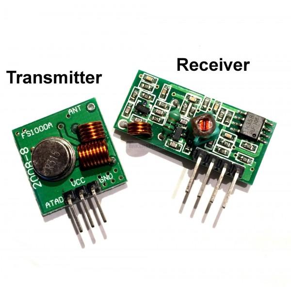 Litarprojek u tutorial arduino mhz radio