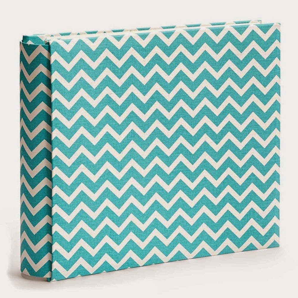 My Legacy™ Lagoon Chevron Post-Bound Album  Item Number: Z2092