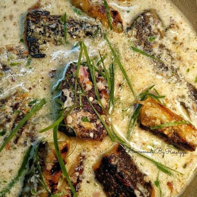 Enaknya Ikan Keli Bakar Masak Cekur @ Pecel